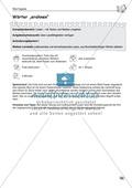 Für die Bildungsstandards üben: Wortspiele - Wörter erahnen Preview 1