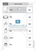 Silben hören - Silben erkennen: Übungen + Lösung Preview 3