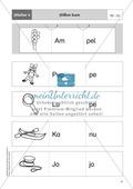 Silben hören - Silben erkennen: Übungen + Lösung Preview 4