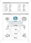 Wort-Bild-Zuordnung: Übungen + Spiel + Lösung Preview 7
