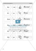 Wort-Bild-Zuordnung: Übungen + Spiel + Lösung Preview 8