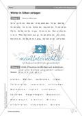 Wörter in Silben zerlegen: Übungen + Erläuterung Preview 1