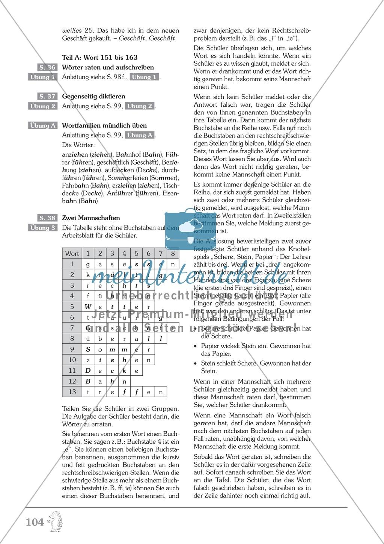Einüben der 200 häufigsten Fehlerwörter - Wort 151-163: Arbeitsblätter + Erläuterung Preview 4
