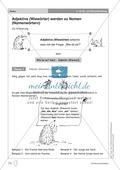 Groß- und Kleinschreibung - Adjektive werden zu Nomen: Übungen + Erläuterung Preview 1