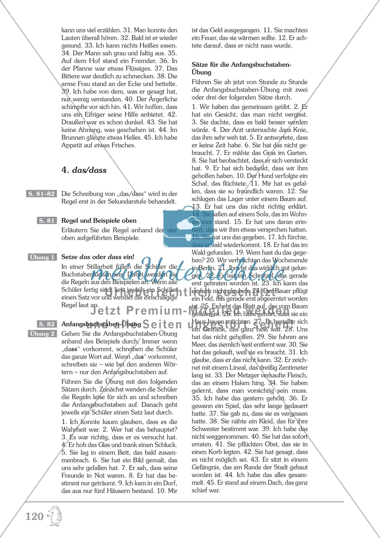Groß- und Kleinschreibung - Adjektive werden zu Nomen: Übungen + Erläuterung Preview 8