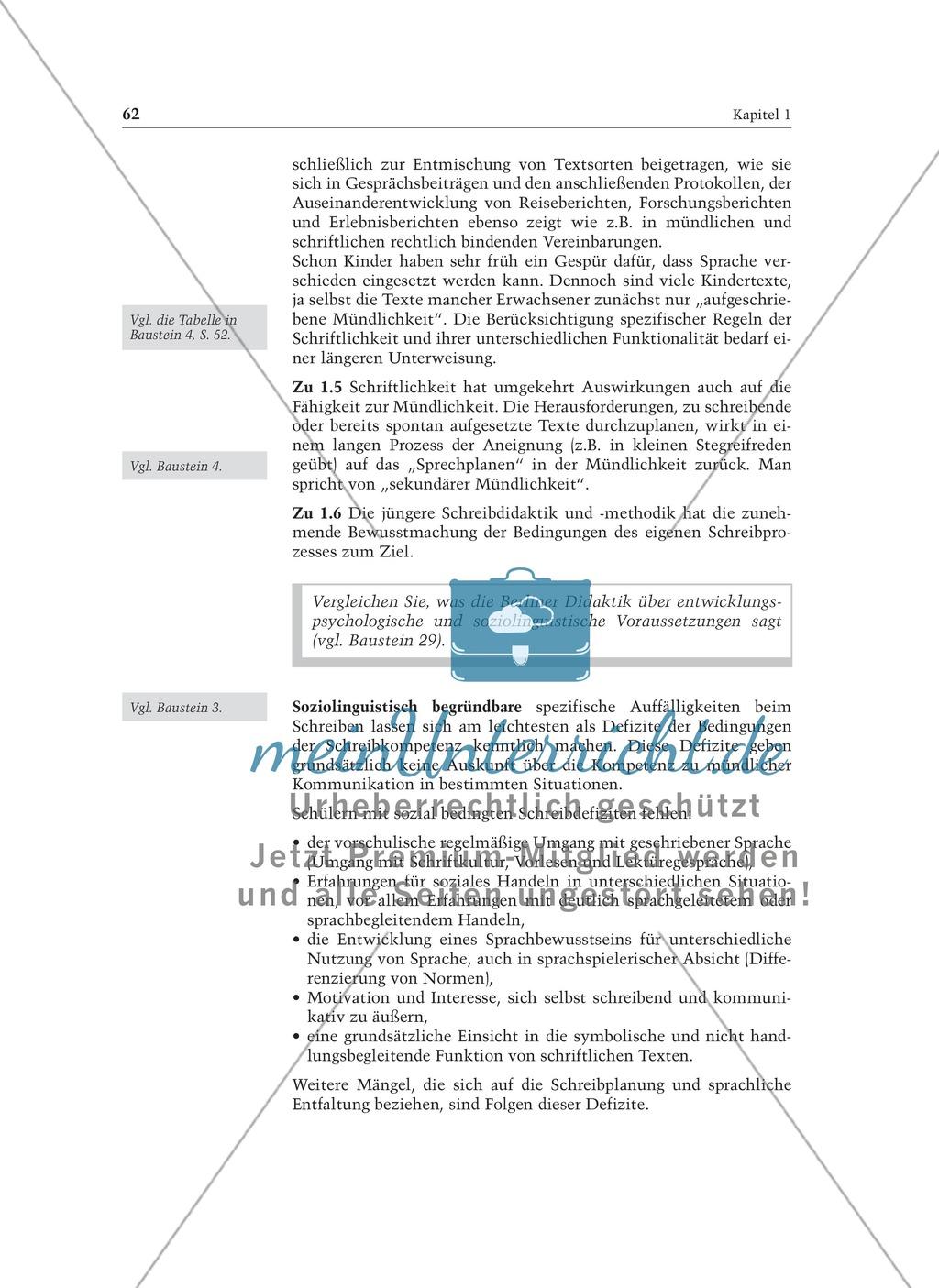 Entwicklung von Schreibkompetenz: Informationstext für Lehrer Preview 3