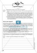 Deutsch_neu, Primarstufe, Sekundarstufe II, Sekundarstufe I, Literatur, Literarische Gattungen, Epische Kurzformen, Legende, Literatur