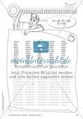 Geheimschrift in Blöcken Alphabet rückwärts: Übungen Preview 1