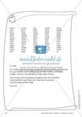 Geheimschrift in Blöcken Alphabet rückwärts: Übungen Preview 2