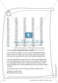 Geheimschrift in Blöcken Alphabet versetzt: Übungen Preview 2