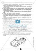 Geheimnisvoller Überfall: Text + Lückentext + Übung + Lösung Preview 2