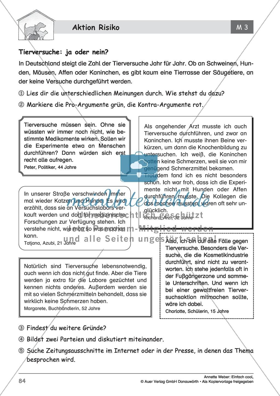 """Kurzgeschichte """"Aktion Risiko"""": Lesetext + Arbeitsblätter Preview 13"""