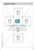 Vorübungen zum Erzählen: Gesichtsausdruck + Mimikwürfel Preview 3