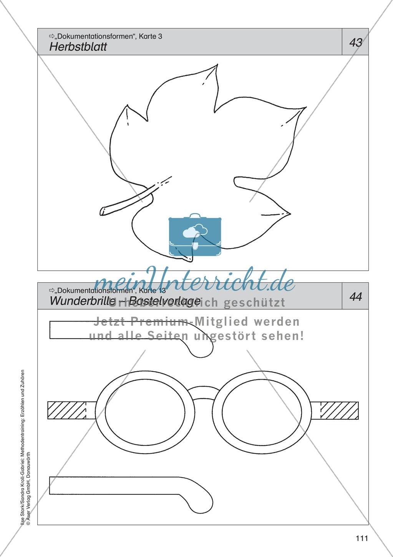 Dokumentationsformen: Herbstblatt Preview 2