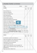 Checkliste: Erzählen und Zuhören Preview 1