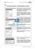 Deutsch, Medien, Internet und PC, Korrekturfunktionen von Word 2003, Rechtschreibkontrolle, Thesaurus