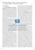 Ideengedichte von Goethe, Schiller: Sachanalyse + didaktische Analyse + Verlaufsplanung + Weiterführung Preview 1