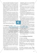 Ideengedichte von Goethe, Schiller: Sachanalyse + didaktische Analyse + Verlaufsplanung + Weiterführung Preview 2
