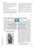 Ideengedichte von Goethe, Schiller: Sachanalyse + didaktische Analyse + Verlaufsplanung + Weiterführung Preview 4