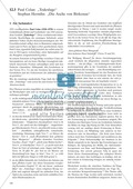 Politische Lyrik von Celan, Hermlin: Sachanalyse + didaktische Analyse + Verlaufsplanung + Weiterführung Preview 1