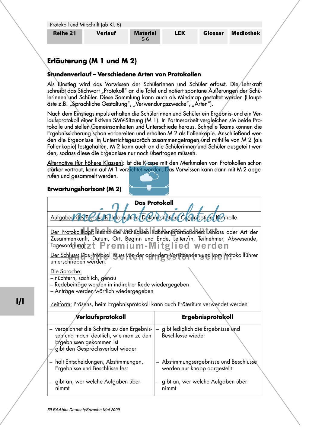Verschiedene Arten von Protokollen: Ergebnis- und Verlaufsprotokoll Preview 4