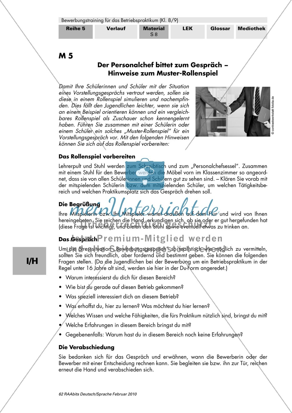bungen f r die sichere selbstpr sentation im. Black Bedroom Furniture Sets. Home Design Ideas