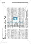 Eichendorf - Aus dem Leben eines Taugenichts:  Erläuterung + Zeitungsartikel Preview 2
