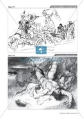 Goethe - Prometheus: Erläuterung, Zeichnung und Text Preview 2