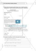 Working at an international trading company: Wortschatz internationales Handelsunternehmen + Übungen zum Passiv Preview 2