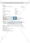 Working at an international trading company: Wortschatz internationales Handelsunternehmen + Übungen zum Passiv Preview 5