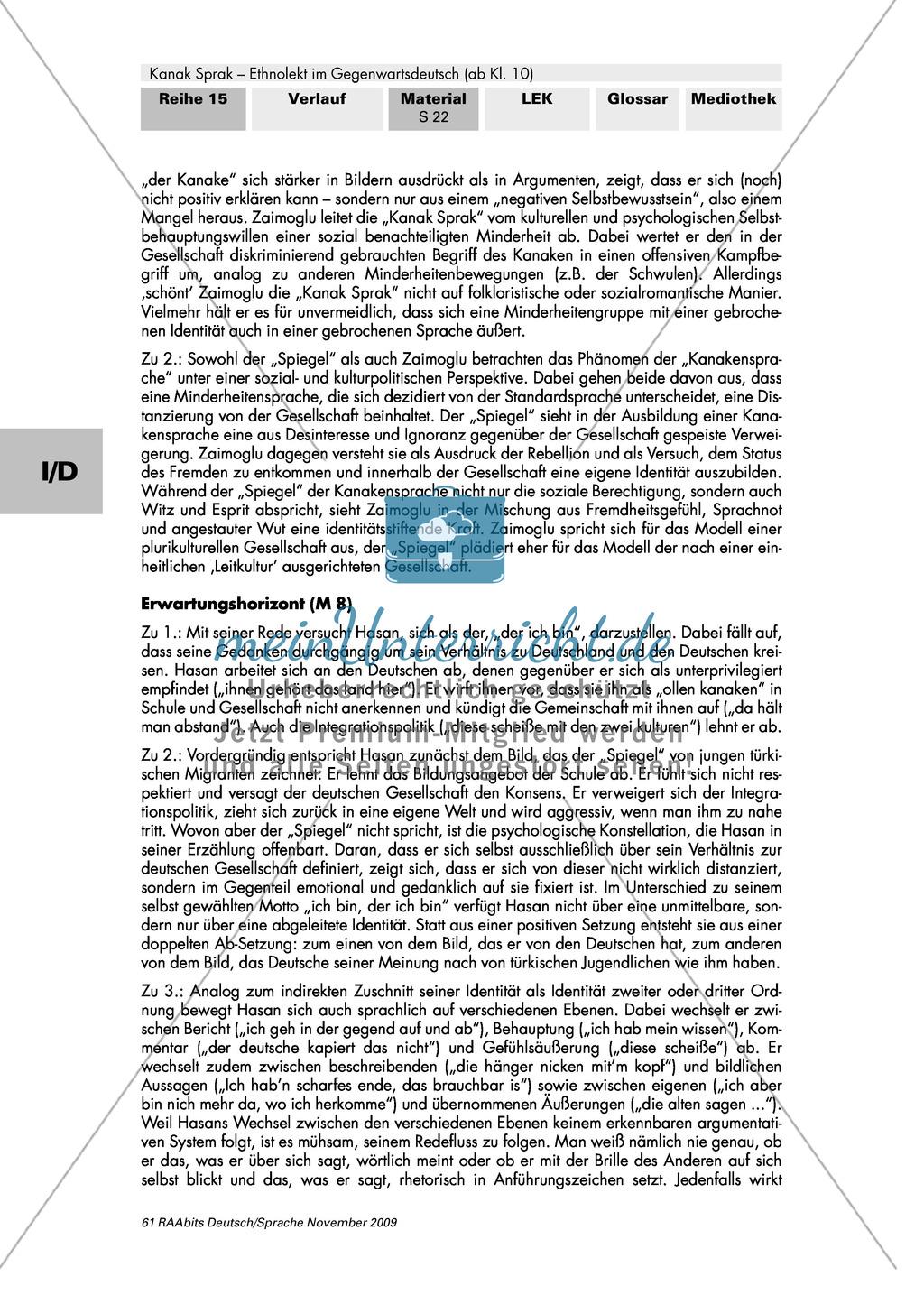 """""""Kanakensprache""""? Der Ethnolekt als Minderheitensprache Preview 5"""