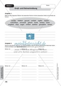 Ausgewählte Rechtschreibschwerpunkte: Übungen + Lösungen Preview 1