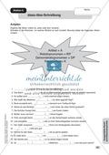 Ausgewählte Rechtschreibschwerpunkte: Übungen + Lösungen Preview 6