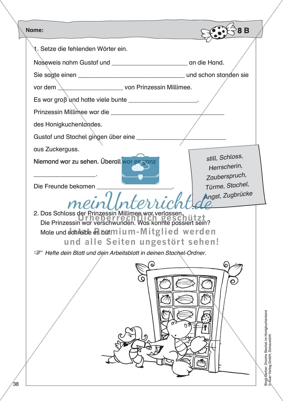 Im Schloss der Prinzessin Millimee: Lesetext + Arbeitsblatt Preview 4