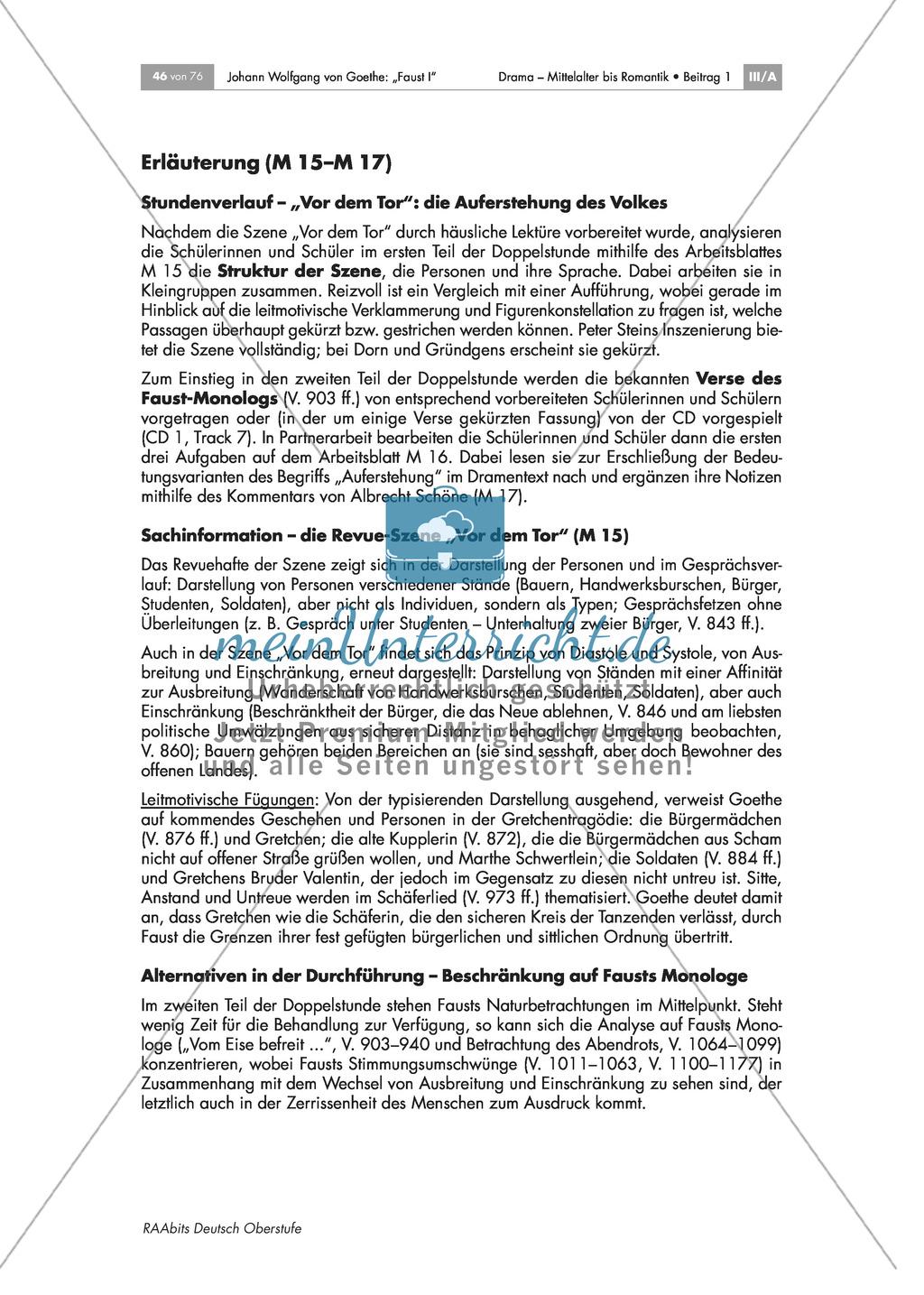 """Johann Wolfgang von Goethe - """"Faust I"""": Die Gelehrtentragödie - die Wette mit Mephisto Preview 4"""