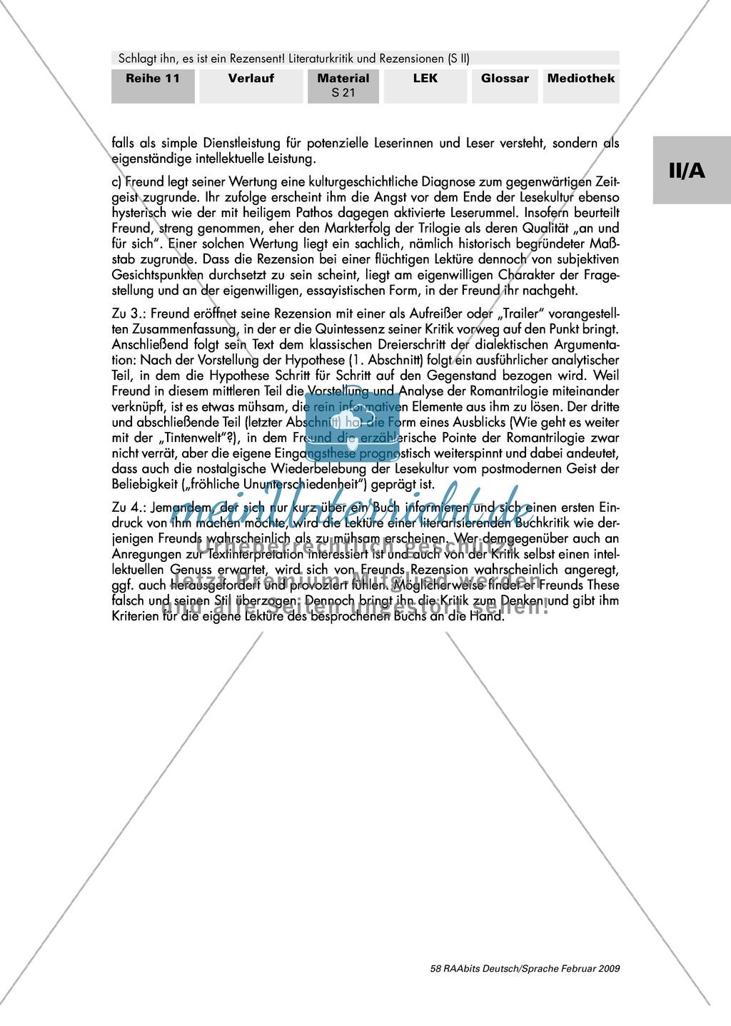 Eine Buchkritik zu Cornelia Funke untersuchen Preview 4
