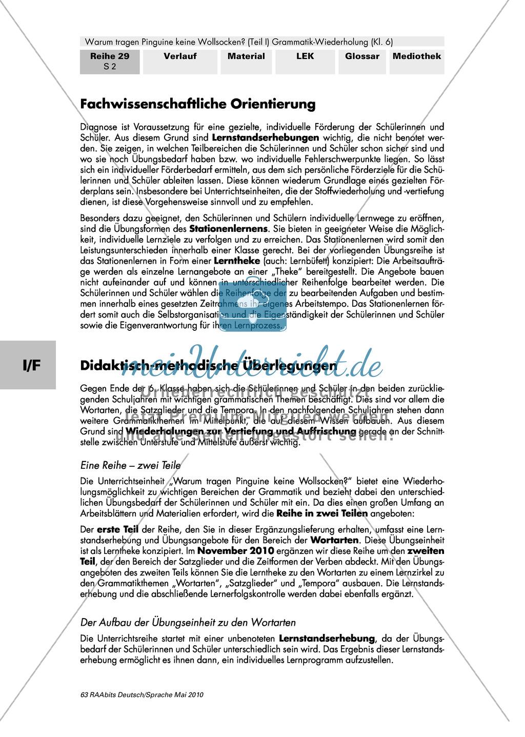 Arbeitsblätter Deutsch Tierbeschreibung : Warum tragen pinguine keine wollsocken eine individuelle
