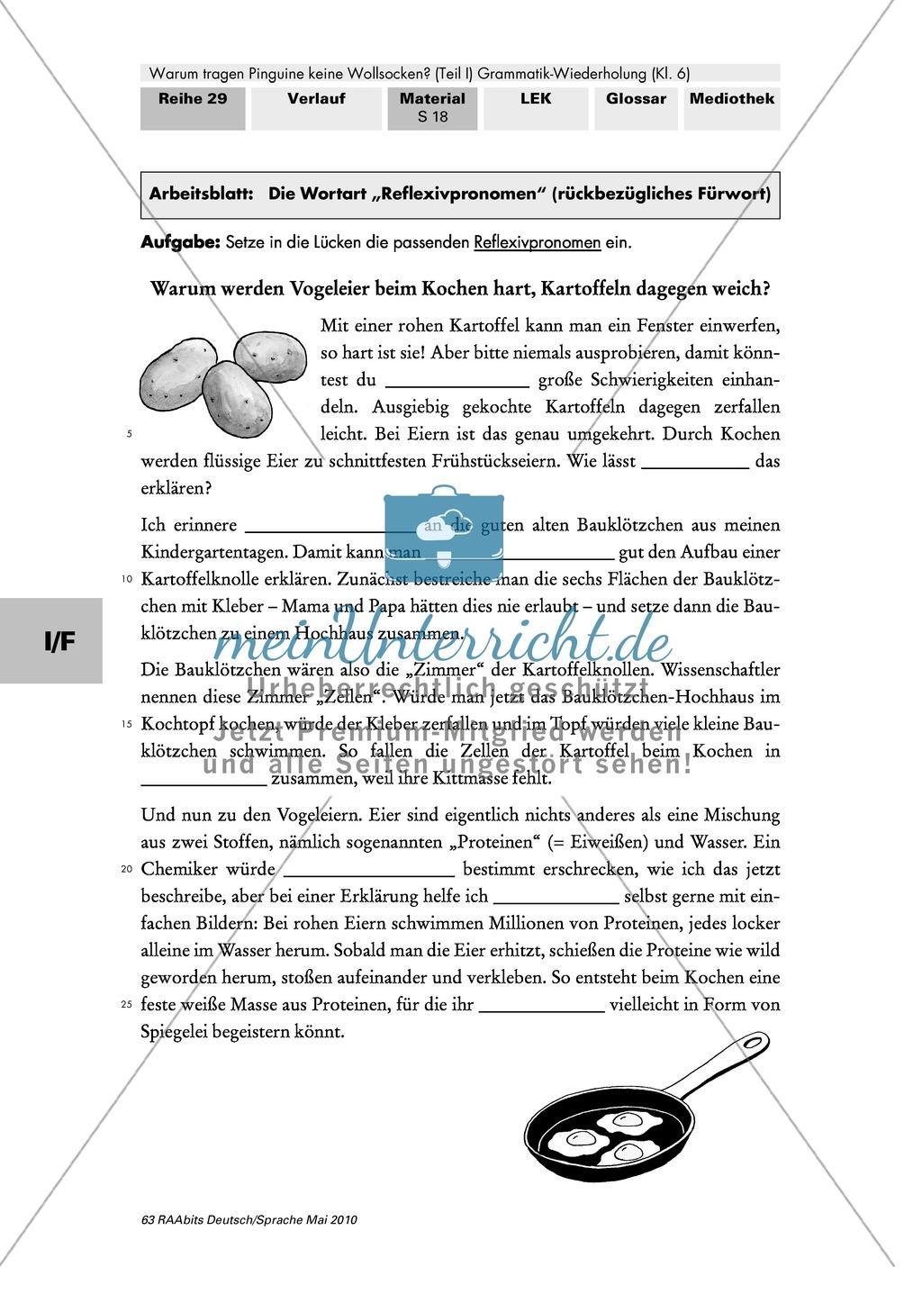 Lerntheke zu den Wortarten Preview 12