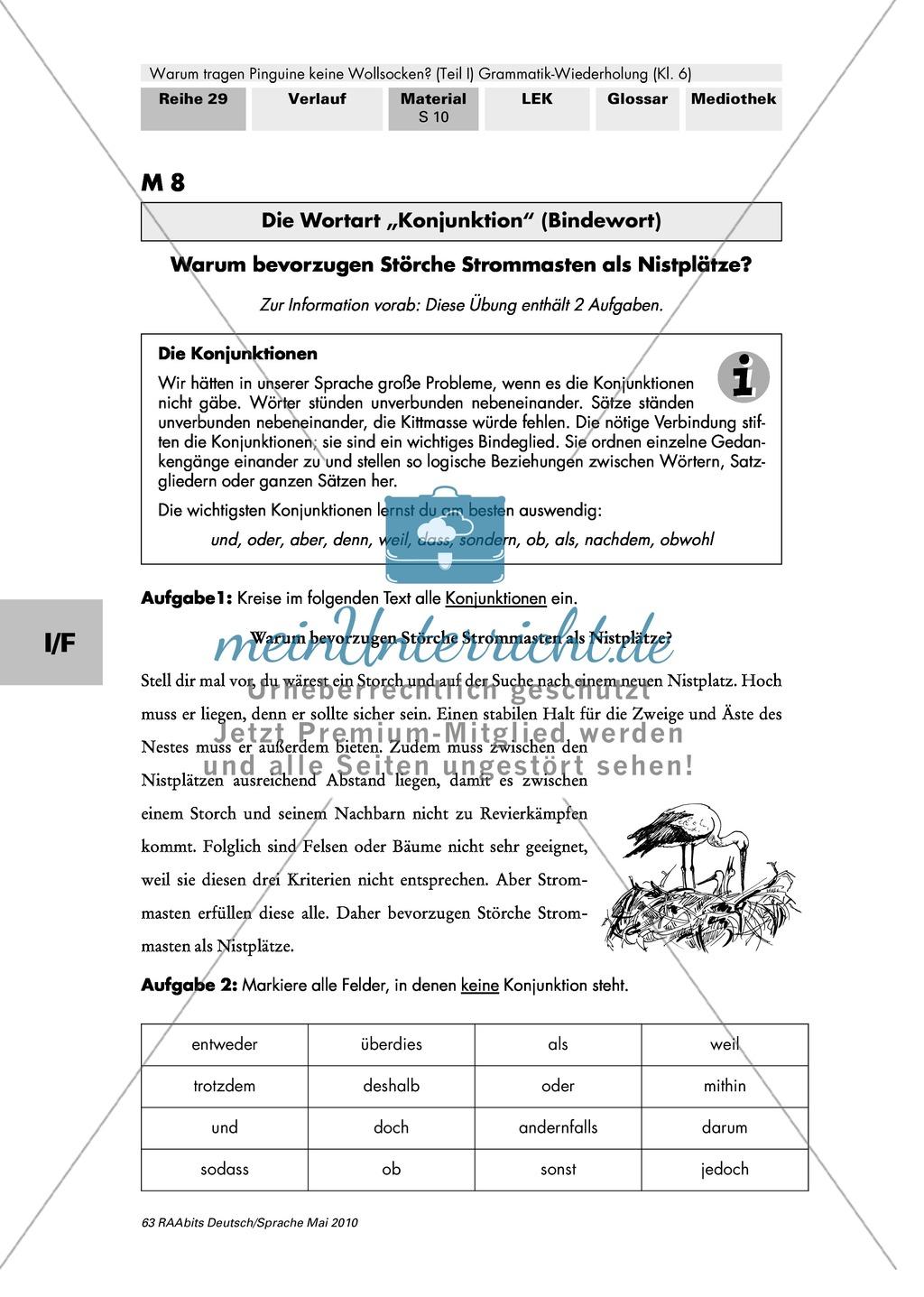 Lerntheke zu den Wortarten Preview 4
