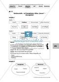 Rechtschreibtraining am PC: Satzglieder und Attribute + Mit ?drag & drop? Elemente anordnen Preview 2