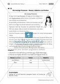 Lernerfolgskontrolle: Die Wortarten Nomen, Adjektiv und Verb anhand eines Märchentextes bestimmen Preview 1