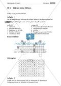 Übung und Strategien zum korrekten Schreiben: Wörterbingo + Kreuzworträtsel Preview 3