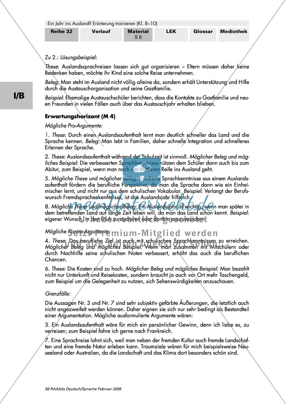 Argumente in Erörterungen anordnen: Argumentationsbaum + Aufbau einer dialektischen Erörterung Preview 4