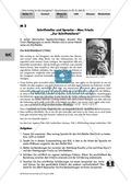 Deutsch, Literatur, Fiktionale Texte, Literaturgeschichte, Umgang mit fiktionalen Texten, Autoren, Epik, Analyse fiktionaler Texte, Max Frisch, schriftstellerei