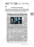 Titelseite einer Tageszeitung und Wirkung der Bilder Thumbnail 0