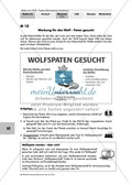 Werbeplakat für Patenschaft für Wolf entwerfen Preview 1