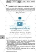 Unterschiedliche Sachtexte untersuchen: Tabelle Bestand der Wölfe + Zeitungsartikel Preview 2