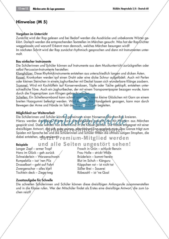 Es war einmal... - Märchen untersuchen: Merkmale + kreativer Umgang Preview 12