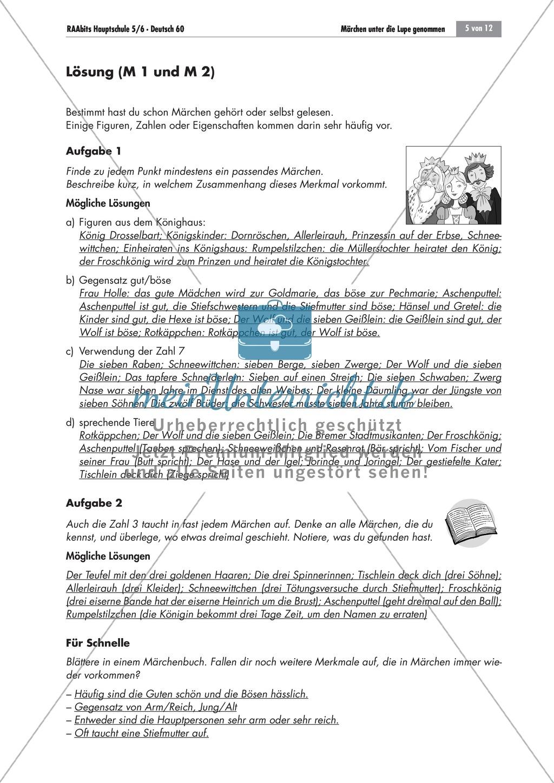 Es war einmal... - Märchen untersuchen: Merkmale + kreativer Umgang Preview 4