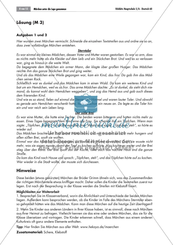Märchen erkennen + zuordnen Preview 1